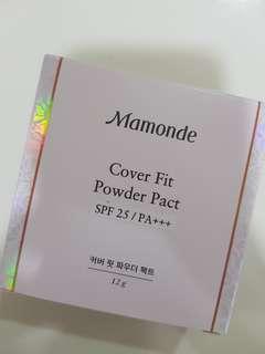 BNIB Mamonde Cover Fit Powder Pact