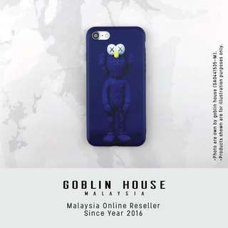 Cookie Master X Kaws iPhone case