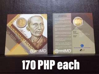 Apolinario Mabini Blister Packed Coin