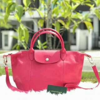 Longchamp Cuir Leather Small