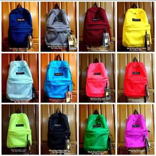 Jansport plain colors