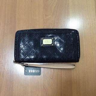 New:Guess black wallet original