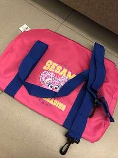 Sesame Street Duffel Bag with Straps