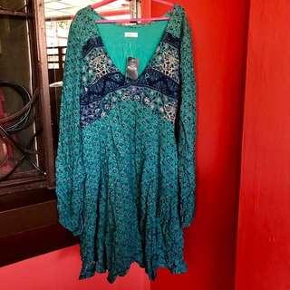 Hollister Teal Summer Dress