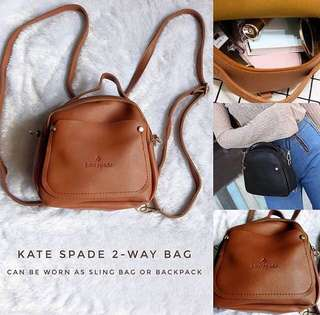 Kate spade 2 way bag- for pre order