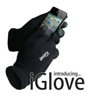 I Glove Touch Gloves For smartphone / Tablet - Black