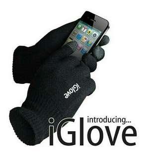 I Glove Touch Gloves For smartphone / Tablet - Black