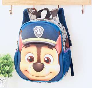 3D PAW Patrol Chase school bag
