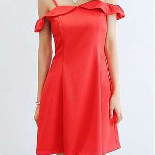 For Pre Order: Ramonna Off Shoulder with Strap Dress
