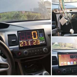 2 DIN 10.2'' HD in Panel Touchscreen available to any Car