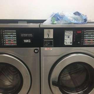 Investors in laundromat