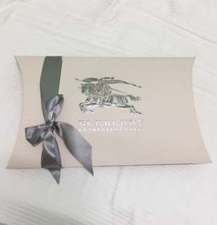 Authentic Burberry Gift box