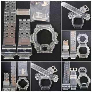 G-Shock 透明代用錶殻GW9400 / GX56 / GA110 / 6900