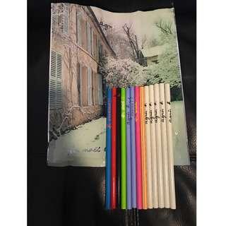 (❗️搬屋在即, 最後減價❗️)Agnes b. 超靚絕版鉛筆