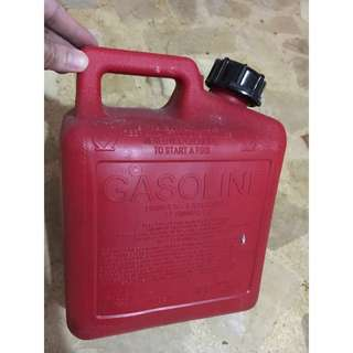Petron XCS backup 1 gallon fuel.
