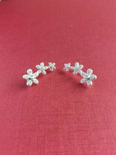 Authentic 925 Italy silver ear cuffs