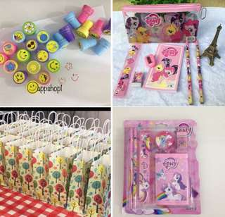 Assorted goodies bag, goody bag gift, goodie bag packages