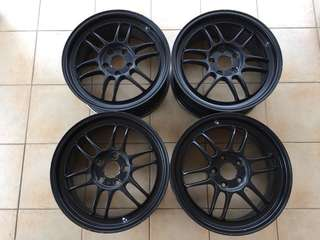 Enkei RPF1 original made in japan 17x7.5 5x114.3