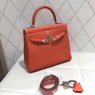 Hermes kelly 25 x stamp