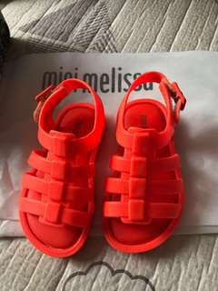 BNIB Mini Melissa Sandals