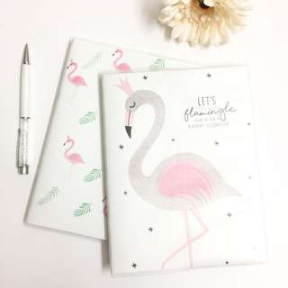 [Ready Stock] Notebook (Flamingo Series)