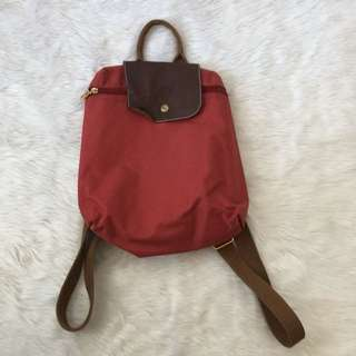 Preloved Longchamp backpack (Class A)