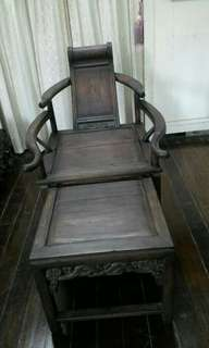 Chinese Antique Old Rest Chair