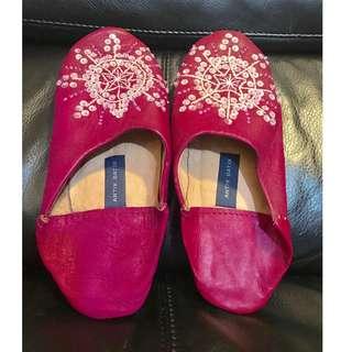 (❗️搬屋在即, 最後減價❗️)Antik Batik 意大利皮製家居鞋