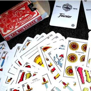 Rare Fournier Spanish Playing Cards