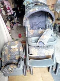 Irdy Stroller with Baby Carrier set
