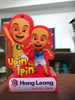 Upin Ipin Hong Leong Coin Bank