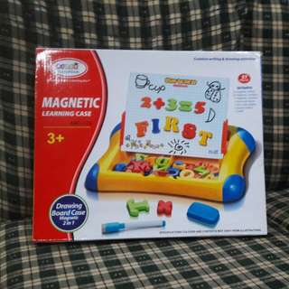 Magnetic Alphabet and Number Learning Case