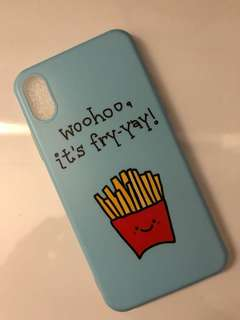 """woohoo, it's Fry-Yay"" IphoneX case!"