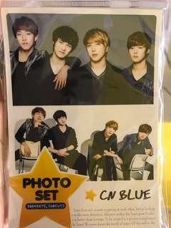 CNBLUE photo cards kpop