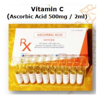 Vitamin C (Ascorbic Acid 500mg / 2ml)