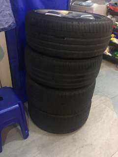 2x Michelin PS3 tyres for sale