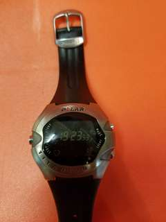 POLAR三項鉄人鈦合金錶