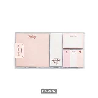 Sticky Note Set (Rose Gold Edition)[Pre-order]