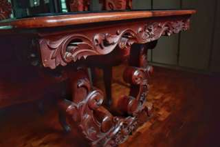 Intricate Antique Dining Set