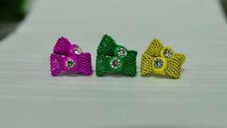 🌸Wire-Ribbon Earrings Bundle