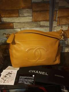 Authentic Chanel Hobo Bag with card and dustbag