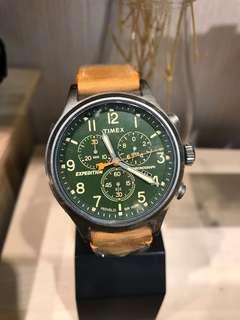 美國 Timex 手錶 Expedition Scout Chrono TW4B044