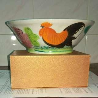 公雞碗古董收藏