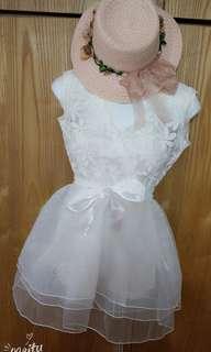 氣質雪紡蕾絲甜美洋裝