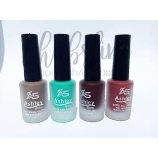 Ashley matte nail polish