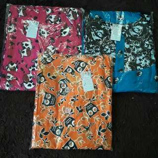 3pcs Daster Payung Busui Rp. 120rb