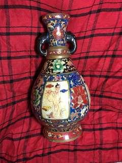 大明宣德年款法瑯彩八仙瓶1 対1000 元38cm high