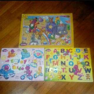 Barney Puzzles bundle deal
