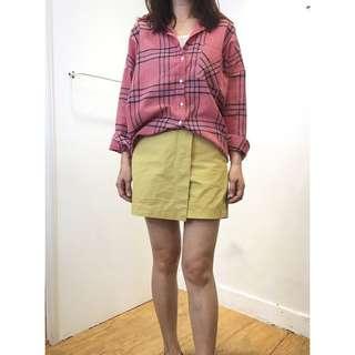 前鈕扣褲裙 08090