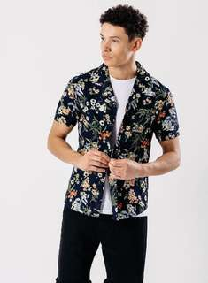 Hawaiian Short Sleeve Collar Shirt(Floral collection)